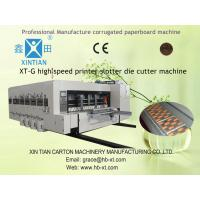 High Speed Rotary Die-Cutting Machine With Touch Screen Control Manufactures
