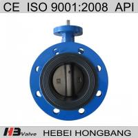 Offer flange soft seal butterfly valve Manufactures