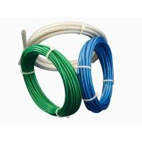 Aircraft Vinyl Coated Steel Wire Rope UV Resistance For Fall Protection Manufactures