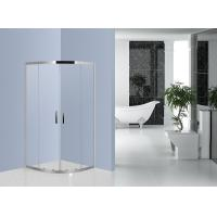 China 800mm x 800mm Quadrant Shower Enclosure Stainless Steel EN12150 Certificated on sale