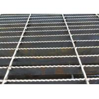 Q235 Carbon Steel Bar Grating , Galvanised Steel Grating Flooring ISO9001 Approval Manufactures