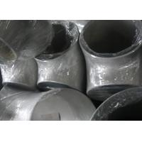 Piping System Ss Pipe Fittings , Butt - Weld  Equal Tee Pipe Fitting Acid Resistance Manufactures