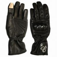 Goat Skin Motorcycling/Racing/Sports Gloves/Gears, Ideal for iPhone Manufactures