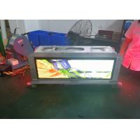 Slim Advertising P3.33 Taxi Top Led Display Screen Weatherproof And Safe Cabinet Manufactures