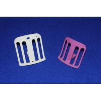 Quality High Mechanical Strength White / Pink AL2O3 Textile Ceramic Parts Bulk Density ≥ 3.91 for sale