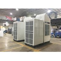 25KW Vertical Commercial Tent Air Conditioner , 30HP Remote Control Temporary AC Unit Manufactures