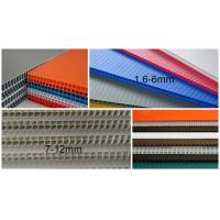 China Factory Price 2440x1220 4x8 2mm 3mm 5mm PP Fluted Sheet, Flute Board on sale