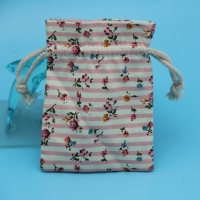 China Promotional Custom Organic packaging Cotton Canvas Christmas Gift Bags on sale