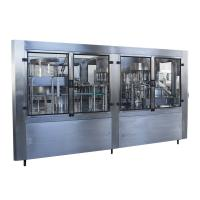 SGS Complete PET Bottled Drinking Water Filling Machines / Mineral Water Bottling Machine