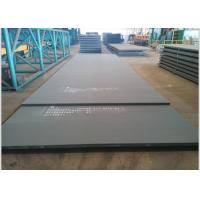 Structural Hot Rolled Plate Steel Thick  6 - 100mm Atmospheric Corrosion Resistant Manufactures
