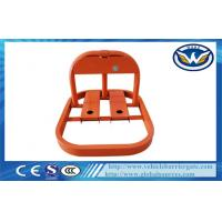 Orange Auto Parking Lock Car Parking Locks for Manual Opening and Closing Manufactures