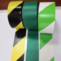 Stripe Color Pvc Warning Tape Caution Tape Strong Adhesive Force Customized Size Manufactures
