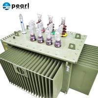 China 50-60 Hz Three Phase Transformer , Oil Immersed Power Transformer Long Life Span on sale