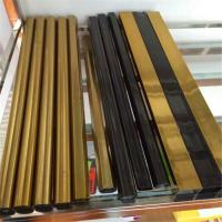 gold Colored Stainless Steel Pipe Tube Mirror Finish 201 304 316 For Handrail Balustrade Ceiling Decoration Manufactures