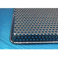 FDA Certification Stainless Steel Perforated Metal Trays With Customized Size Manufactures
