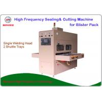 China Semi Automatic High Frequency Plastic Welding Machine For Blister Pack on sale