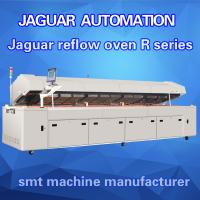 high quality high capacity nitrogen option reflow machine eight heating zones with CE approve(R8) Manufactures