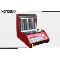 China Auto Fuel Injector Cleaner Tester Machine With LED Display 6 Cylinder 110V / 220V on sale