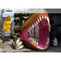 Dinosaur Designed Cabin 5D Cinema Equipment With Comfortable Chairs Manufactures