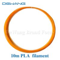 Orange Recycled Material PLA 3D Printer Filament 1.75mm or custom Manufactures