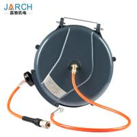 Air Water Retractable Hose Reel Wall Mountable Length 20 Meter With Plastic Material Manufactures