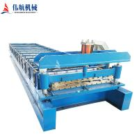 China Roof Wall Panel Manufacturing Roll Forming  Machine on sale