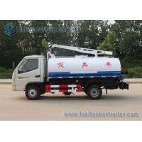 T-king 4x2 Mini Fecal Suction Truck Vacuum Sewage Suction Truck 1000 Gallons Manufactures