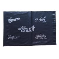 13x17in 2.5mil black silver poly mailbags Poly shipping mailers custom printed plastic bags Manufactures