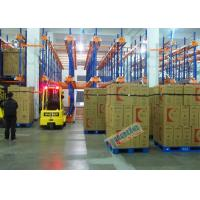 Warehouse Automated Radio Shuttle Racking Cold Supply Chain Pallet Shuttle System Manufactures