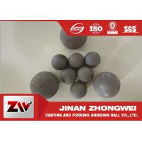 High Impact Toughness forged grinding balls for cooper mining special used Manufactures
