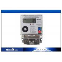 Single Phase Electronic Energy Meter , Static Multifunction Energy Meter Manufactures