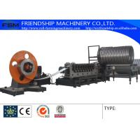 Auto Spiral Culvert Pipe Making Machine with 9 Forming Stations used in water conservancy project Manufactures