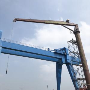 Stiff Boom Heila Small Tonnage Vessel Marine Deck Crane Manufactures