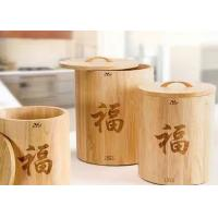Luxury Gift Packing Box Wooden Gift Packaging Tea Coffee Round Box With Custom Logo Manufactures