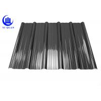 Weather Resistant Resin Plastic Corrugated Roofing Sheets For Building Construction Materials Manufactures