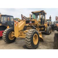Operating Normally Used Motor Grader , Yellow Japan 140h Motor Grader Used Manufactures
