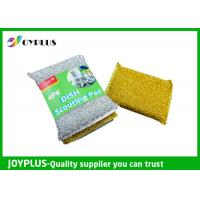 High Density Kitchen Nylon Sponge Scrubber , Dish Washing Scrub Pads 4 Pack Manufactures