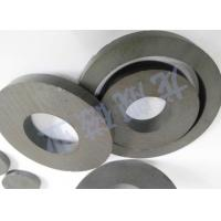 Strong Ferrite Ring Magnet Dimensions / Shape Customized High Coercive Force