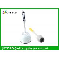 Simply Design White Plastic Toilet Brush And Holder Multi Purpose HT1020 Manufactures