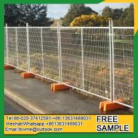 China Gindie Easily assembled safety control construction fence panels hot sale on sale