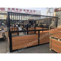 China Full Equipment Luxury Horse Stables And Various Colors Horse Stall Partitions on sale