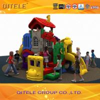 CSA Children Playground Equipment With Rubber Coated Rot - Proof Manufactures