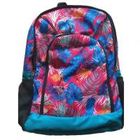 Travel Backpack Canvas Primary School Bag , Washable Primary Book Bag Manufactures