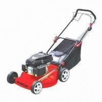 Quality Gasoline Lawn Mower with 508mm Cutting Width, 25 to 85mm Height and 139cc Displacement for sale