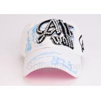 Customized Adjustable Cotton Printed Baseball Caps Visor For Outdoor Manufactures