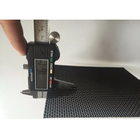 China Dust Proof Safety Window Screen Transparent Black Powder Stainless Steel on sale