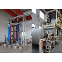 Buy cheap Waste Recycling Printing Paper Making Machine 2600mm For News Printing from wholesalers