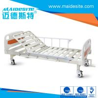 ISO CE Certificated One Crank Electric Patient Bed , Falling Protection Backrest Lifting 0-80° Manufactures