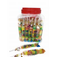 Colorful and Sweet Multi Fruit Flavor Roll Healthy Hard Candy in Jars Manufactures