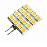 China Custom 180lm 5050SMD 12V 3W G4 Led Lamps Halogen Bulb Replacement 16pcs on sale